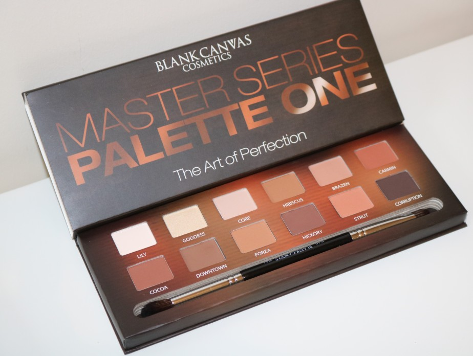 REVIEW: BLANK CANVAS MASTER SERIES PALETTEONE