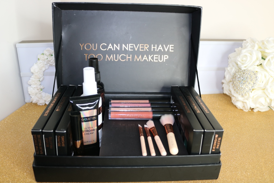 What I Received In My College MakeupKit